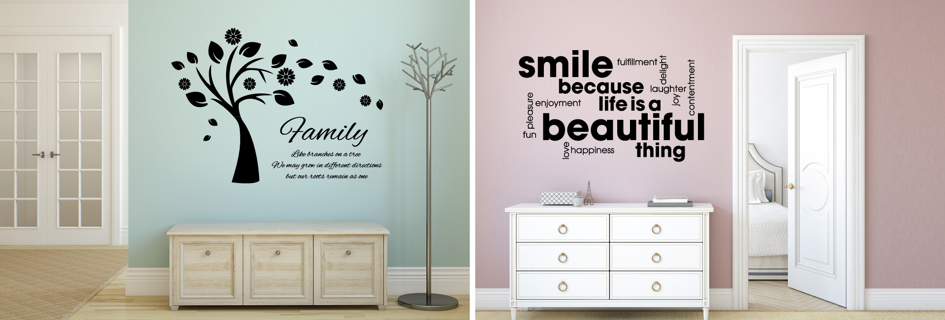 wall genie wall stickers tile stickers wall art slider image 3 love